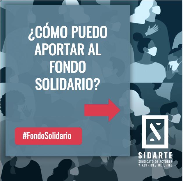 ¿Cómo puedo aportar al Fondo Solidario de SIDARTE?